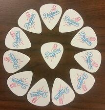 Los Angeles Dodgers Guitar Picks (quantity 72)