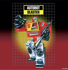 IN HAND HASBRO TRANSFORMERS REISSUE G1 AUTOBOT BLASTER ACTION FIGURE