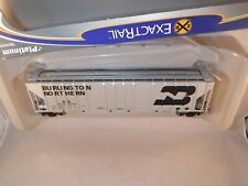 ExactRail Platinum HO Burlington Northern BN 50' Magor 4750 Cov Hopper #439554