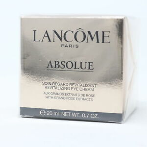 Lancome Absolue Revitalizing Eye Cream  0.7oz/20g New With Box