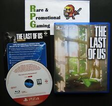 PS4 - The Last of Us Remastered - Very Rare Press Promo with Fan Made Art