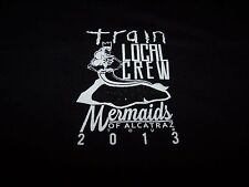 "TRAIN ""Mermaids of Alcatraz"" Tour 2013 LOCAL CREW T-Shirt BLACK Men's XL ~ NWOT"