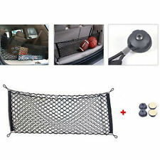 1x Car Interior Trunk Rear Cargo Organizer Storage Net Elastic Accessories Nylon