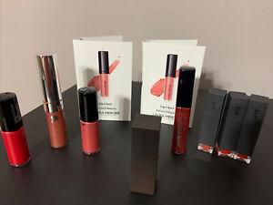 Cosmetic Sample Lip Lipstick Gloss BITE Estee Lauder Lancome Mercier  LOT x 10