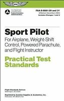 ASA Practical Test Standards (PTS) Sport Pilot - 8081-29/31
