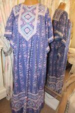 1980s indian cotton maxi dress - Ditsy Vintage Size 12 14 16 18BNWT aztec hippie