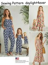 Women Girl Jumpsuit Dress Sewing Pattern 8146 Simplicity Size S-M-L-Xl New #u