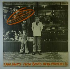 "12"" LP-Ian DURY-NEW BOOTS AND PANTIES!!! - k6128-Slavati & cleaned"