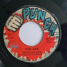 Trevor And Keith / Minna Boys -  The Ark / False Reador  UK Punch  7in
