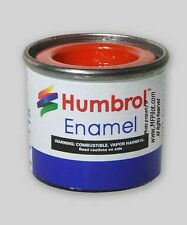 GLOSS ORANGE - Humbrol Enamel Model Paint - 14ml Tin #18