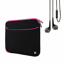 Laptop Tablet Sleeve Case Bag Cover for Acer Chromebook 11.6 inches + Earb