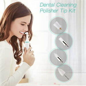 Electric Tooth Polisher Stain Plaque Remover Teeth Whitening Replacement He TLZT
