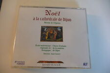 NOEL A LA CATHEDRALE DE DIJON COFFRET 2CD MESSE & VEPRES ECOLE MAITRISIENNE