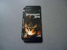 Dragoneer's Aria Empty Display Box     PSP   No Game   NEW