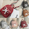 Women Mini Backpack Purse PU Leather Small Backpack Shoulder Bag Travel Rucksack