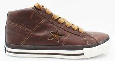 Converse One Star Mid Schuhe Sneaker Leder braun EU 37 UK 4 US 4,5