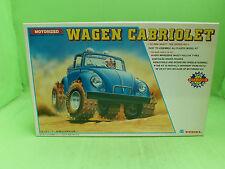 YODEL NO.3 VW BEETLE KAFER CABRIOLET CONVERTIBLE 1/28 - UNBUILT INBOX COMPLETE -