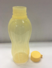 Tupperware Water Bottle 1L with Liquid Tight Seal in Bright Yellow Rare NLA New