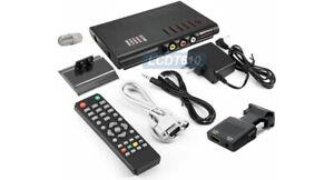 Coax RF Composite RCA Component Video To HDMI DVI VGA Converter