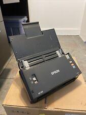 Epson WorkForce DS-510 Sheetfed Duplex Document Scanner Working