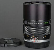 EX+ Olympus Zuiko 135mm f2.8 Prime Portrait  Telephoto lens - Working great!