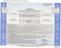 Coca-Cola Hellenic Bottling Company > Greek stock certificate Greece share