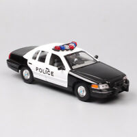 1/24 scale Welly Ford Crown Victoria 1999 police Diecast metal Vehicle model car