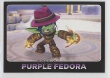 2013 Topps Activision Skylanders Giants #108 Purple Fedora Non-Sports Card 8y9