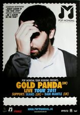 Gold Panda - 2011-tourplakat-Concert-Tourposter