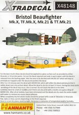 Xtradecal 1/48 Beaufighter Mk.X, TF Mk.X, Mk.21, TT Mk.21 # 48148
