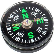 Bouton de 20mm Mini Compass Scouts Camping Randonnée Survie Navigation