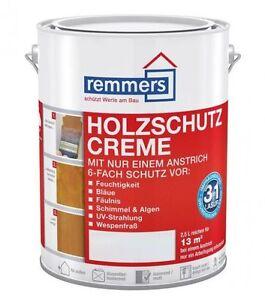 ***Remmers Holzschutz-Creme, weiß, 2,5 Liter***TOP-Angebot***