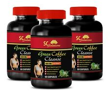 Weight management system - GREEN COFFEE CLEANSE 400MG 3B - green coffee svetol