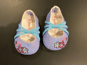 American Girl Doll Flower Shoes New Meet