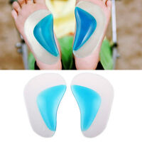 Pugel Orthopedic Orthotic Arch Support Insole Flatfoot Correction Shoe Insert x2