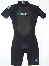 Xcel 2 mm ladies womens spring shorty Wetsuit 4 black swim surf snorkel ski