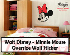 Walt Disney - Minnie Mouse Cartoon Logo Wall Vinyl Sticker