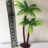 Mini Plastic Coconut Palm Tree Plant Bonsai Craft Micro Landscape Aquarium Decor