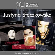 Justyna Steczkowska - Dziewczyna Szamana, Dzien i noc, Naga (CD 3 disc) NEW