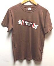 Tootsie Roll American Candy logo serigrafato T-Shirt-Da Uomo Taglia Extra-Large
