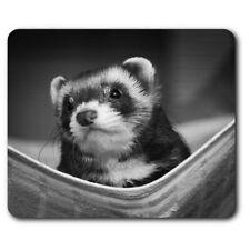 Rectangle Mouse Mat Bw - Ferret Hammock Pet Rodent Animal #37246