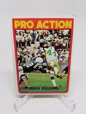 1972 John Riggins Pro Action Topps Football #126