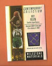 2003-04 TOPPS CONTEMPORARY RAY ALLEN GAME-USED JERSEY #d175/250 SUPERSONICS