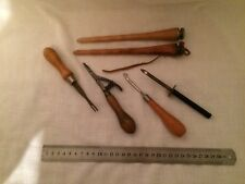 6 X Vintage Needle/Wool Working Tools , Please see the pictures .