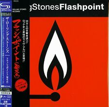 THE ROLLING STONES FLASHPOINT JAPAN  MLPS 2015 RMST SHM HIGH RESOLUTION CUT CD