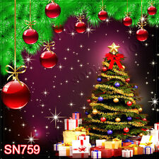 Christmas 10'x10' Computer-painted Scenic Photo Background Backdrop SN759B881