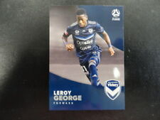 2017/18 TAP'N'PLAY A-LEAGUE CARD NO.112 LEROY GEORGE MELBOURNE VICTORY