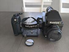 Mint Mamiya 645e Medium Format Film Camera w Mamiya Sekor C 80mm f2.8 N + grip