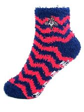 Florida Panthers Fuzzy Non Skid Sleep Socks One Size Fits Most