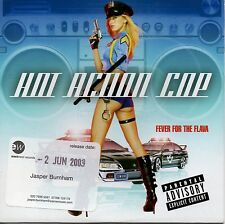 HOT ACTION COP - FEVER FOR THE FLAVA - RARE 2003 PROMO CD SINGLE - CARD COVER